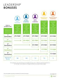 It Works Global Ruby Chart It Works Compensation Plan