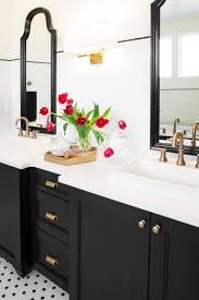 Sconces Bathroom Best HGTV Loves The Classic Clean Style Of This Updated Bath With A Dark