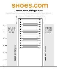 Pss Sizing Chart Womens Final