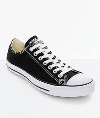 converse chuck taylor all star black white shoes