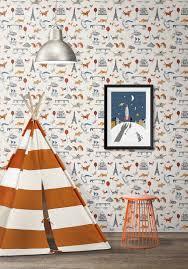 Paris Wallpaper For Bedroom Paris Gorgeous Kids Nursery Wallpaper Milton King