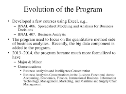 The Business Analytics Program at Old Dominion University - ppt download