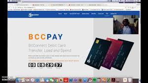 bitconnect debit card 8 hour countdown
