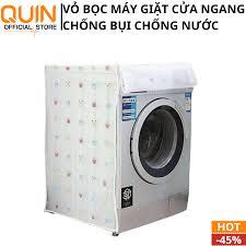 Vỏ Bọc Máy Giặt Cửa Ngang Áo Trùm Máy Giặt Cao Cấp Chống Bụi Bẩn Vỏ Bọc Máy  Giặt Cửa Ngang Họa Tiết Bắt Mắt Bảo Vệ Máy Giặt Chống Bụi Bẩn