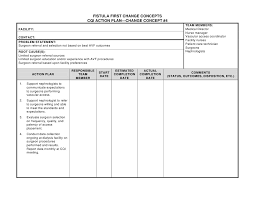 Action Plan Format Nursing | Best Resume Examples