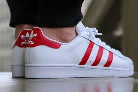 adidas shoes superstar red. adidas superstar red \u0026 white sport shoes h