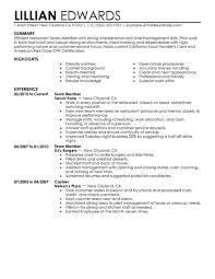 ... in hiring a new team member. Use these resume examples as a starting  point in creating your own job-winning resume, and find the job you want,  faster.