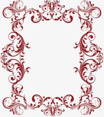 Vine Pattern Fascinating Handpainted Red Vine Pattern Vine Clipart Hand Painted Vines