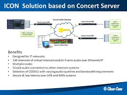 clear com partyline digital matrix ip and wireless intercoms sample diagram