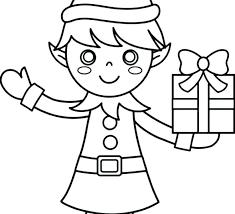 Elf Coloring Sheets Printable Elf On The Shelf Printable Coloring