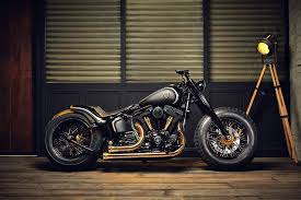 harley softail slim crowned stallion by rough crafts hiconsumption