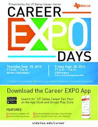 Career Expo Utd Career Center Bits