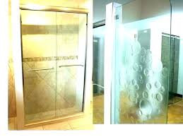 how to clean hard water off shower doors clean shower glass best way to clean shower