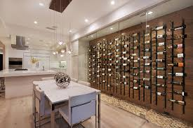 wine cellar glass wine cellar contemporary with wine storage in kitchen wood wall