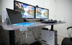 fine desk cable management photos z desktop system