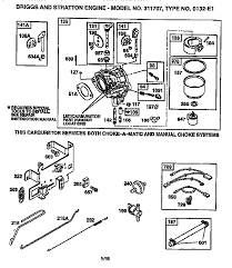 wonderful briggs and stratton schematics photos electrical briggs and stratton engine model number decoder at Wiring Diagram For Ole 11hp Biggs Stratton