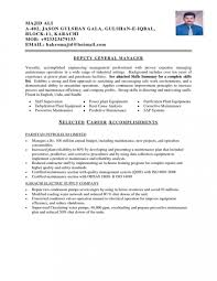 Remarkable Mechanical Maintenance Engineer Resume Sample On For With