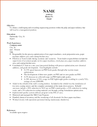 Objective On Resume Example Resume Name