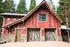 rustic garage doorsmonitor pole barn garage rustic with door interior and closet