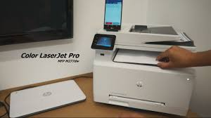 Hp Printer Color Laserjet Pro Mfp M277dw Review Youtube