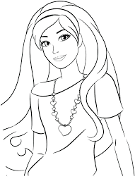 Get This Printable Image Of Barbie Coloring Pages Fashion Dress