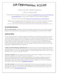 Certified Nursing Assistant Resume Samples Job Description Of A