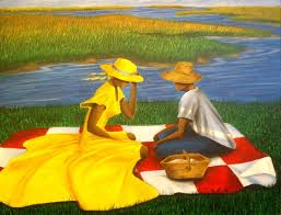 lowcountry proposal painting of afro american culture in charleston sc by dana coleman