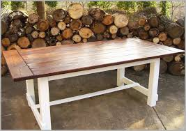 farmhouse kitchen table with bench elegant round farmhouse pedestal table best solid wood trestle dining