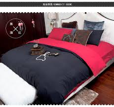 cool bed sheets designs. Contemporary Bed Mens Quilt Cover Sets Black Comforter Twin Queen King Size Designer  Bed Sheets Oil Paintinghome Textile Fitted Sheetin Bedding Sets From Home  For Cool Bed Sheets Designs