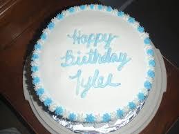 Basic Birthday Cake Cakecentralcom