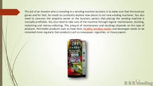 Vending Machine Tips Simple Vending Machine Business Tips And Benefits