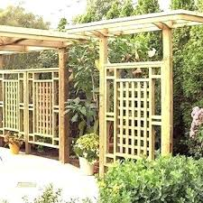 free standing trellis privacy fence freestanding screen panels plans