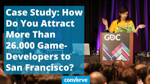 Case Study Gdc 2016 How Do You Attract More Than 26 000