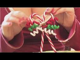 Christmas Decorations With Candy Canes Christmas Crafts How to Make Candy Cane Christmas Tree Ornaments 23