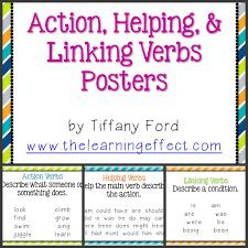 best images about verbs anchor charts 17 best images about verbs anchor charts activities and linking verbs