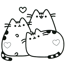 A large collection containing more than 100 black and white images for a boy or girl. Cat Coloring Pages Coloring Rocks