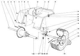 Toro 57051 25 lawn tractor 1969 sn 9000001 9999999 parts rh jackssmallengines ez go rear axle diagram 1998 ford f150 rear axle assembly diagram