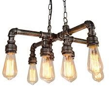 electro bp tools electro bp vintage style metal art chandelier max 480w with 8 lights painted finish