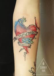 Tetování Srdce Tetování Tattoo