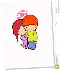 cute couple card