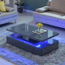 quinton glass coffee table in grey high