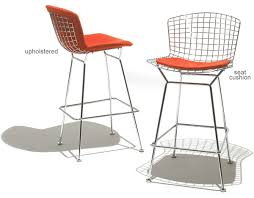 Full Size of Bar Stools:harry Bertoia Wire Bar Chair With Cushion Stool  Style Or Large Size of Bar Stools:harry Bertoia Wire Bar Chair With Cushion  Stool ...