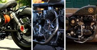 top 5 modified royal enfield in india