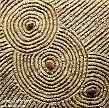 zen garden art connect original sand painting by art hack