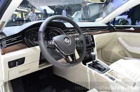 volkswagen passat interior 2015. 2015 vw passat interior at the 2014 paris motor show volkswagen a