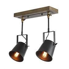 track lighting spotlights. LNC Wood Close To Ceiling Track Lighting Spotlights 2-Light Lights B