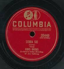 78tk-Female vocal-COLUMBIA 35449-Doris Rhodes | eBay