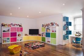 In choosing the toy storage ideas, you must choose one that matches the  style and decorations of the playroom.