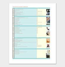 House Cleaning Schedule Template Free For Word Pdf