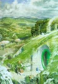 concerning hobbits welsh fairies in oxford alan lee the hobbit in a hole in the ground there lived a hobbit